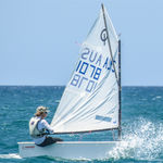 barco de vela ligeira individual / de lazer / para escola / catboat