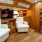 super iate à vela de luxo de cruzeiro / com deck saloon / 6 cabines