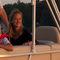 pontoon boat com motor de popa / de pesca esportiva / máx. 8 pessoas