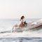 barco inflável hidrojato / semirrígido / com console central / máx. 4 pessoas