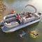 pontoon boat com motor de popa / de pesca esportiva / máx. 11 pessoas
