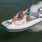 barco inflável com motor de popa / semirrígido / com console lateral / bote auxiliar para iate