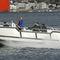 barco de trabalho / de centro-rabeta / a diesel / em alumínio