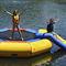 equipamento de diversão aquática cama elástica / inflável