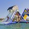 equipamento de diversão aquática com estruturas lúdicas / escorregador / inflável