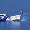 equipamento de diversão aquática catapulta / inflável