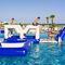 equipamento de diversão aquática barreira / inflável