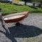 bote com motor de popa / de lazer / em fibra de vidro / clássico