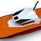 barco para transporte de pilotos / com motor de centro