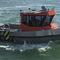 barco de serviço / com motor de centro / em alumínio
