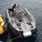 barco de trabalho / com motor de popa / em alumínio