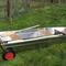 bote com motor de popa / open / de pesca / em alumínio