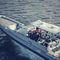 assento de piloto / concha / de operador / para barco profissional