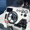 lancha de console central com motor de popa / de pesca esportiva