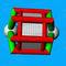 equipamento de diversão aquática em forma de roda / torniquete / inflável