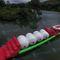 equipamento de diversão aquática colchão / trave de equilíbrio / pista de corrida / almofada