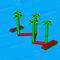equipamento de diversão aquática colchão / trave de equilíbrio / pista de corrida / inflável