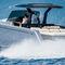 lancha Express Cruiser com motor de centro / a diesel / bimotor / com console dupla