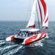 catamarã / de charter / de popa aberta / com deck saloon