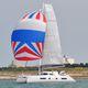 catamarã / de cruzeiro oceânico / de popa aberta / com flybridge