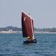 barco de vela ligeira individual / para dois tripulantes / de lazer / catboat