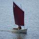 bote de windsurf tradicional / de popa aberta / com vela aúrica / transportável