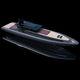 barco inflável com motor de centro / semirrígido / com cockpit fechado / com cabine