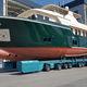 carreta de movimentação / para barco / controlada remotamente