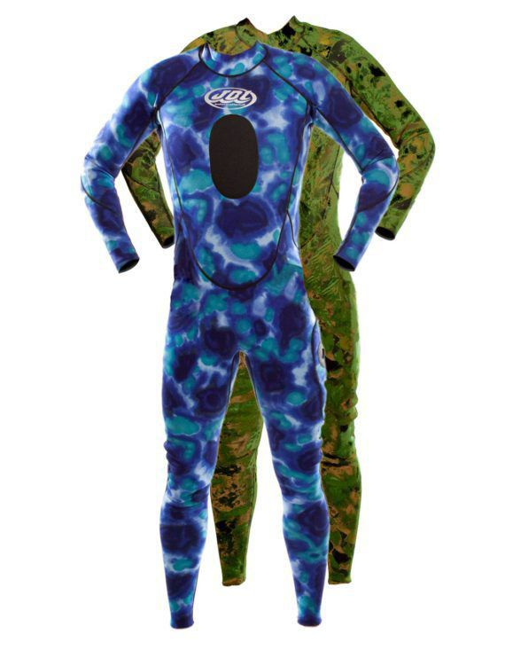 Spearfishing Wetsuit One Piece 2 Mm Men S Double Agent