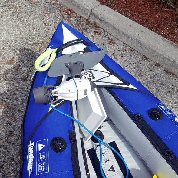 Boating engine / outboard / electric / kayak - DIY BIXPY JET