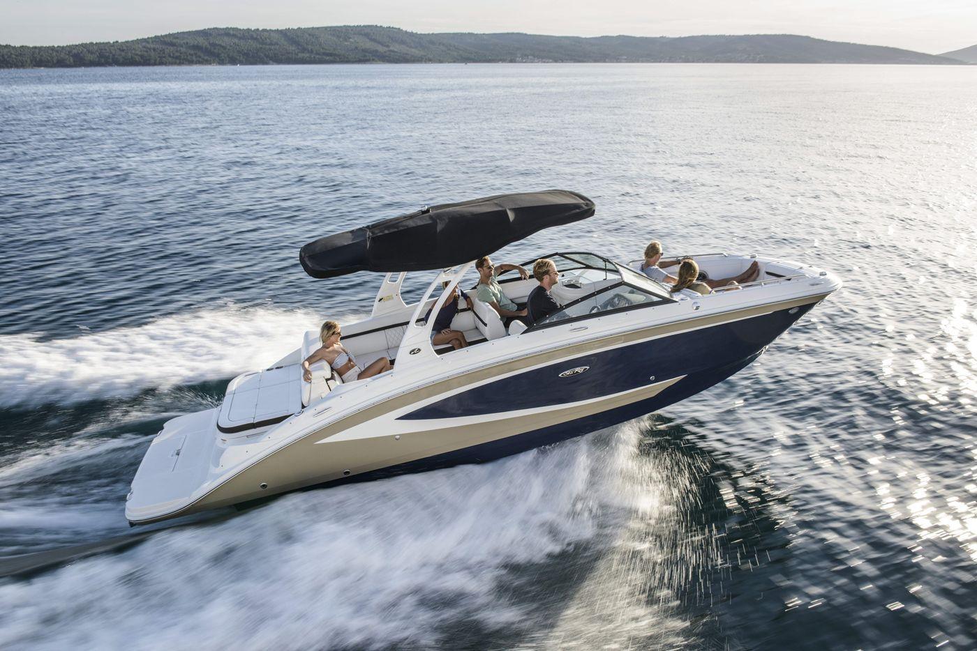 Inboard deck boat / dual-console / wakeboard / ski - SDX 270