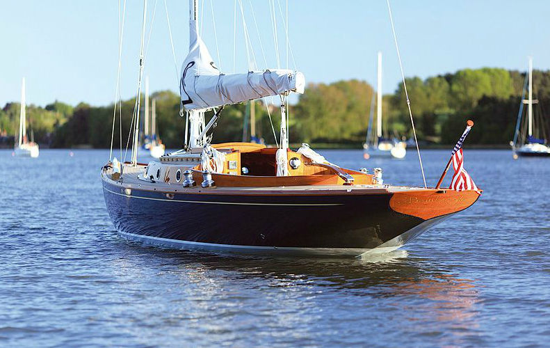 Monohull Classic Open Transom Wooden Spirit 46 Spirit Yachts