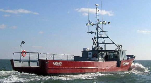 Utility boat / inboard / aluminum - 25 M - LOBSTER BOAT