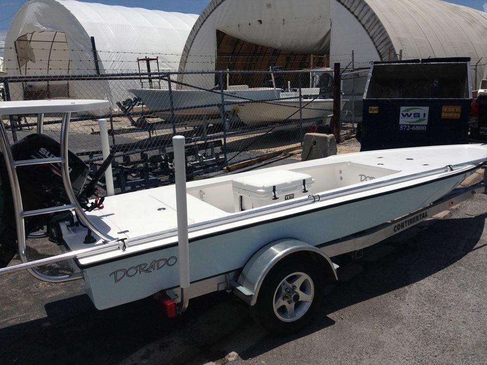 Outboard bass boat / sport-fishing - 16 SKIFF - Dorado