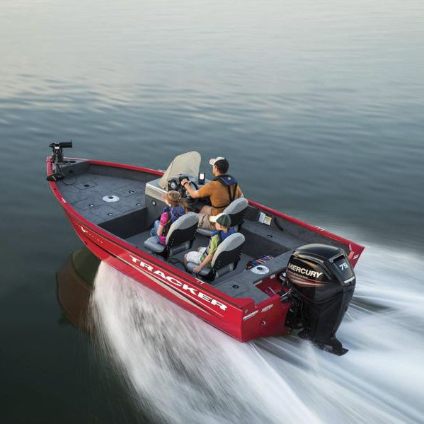 Outboard Bass Boat Side Console Sport Fishing Aluminum Pro Guide V 16 Sc Fisher