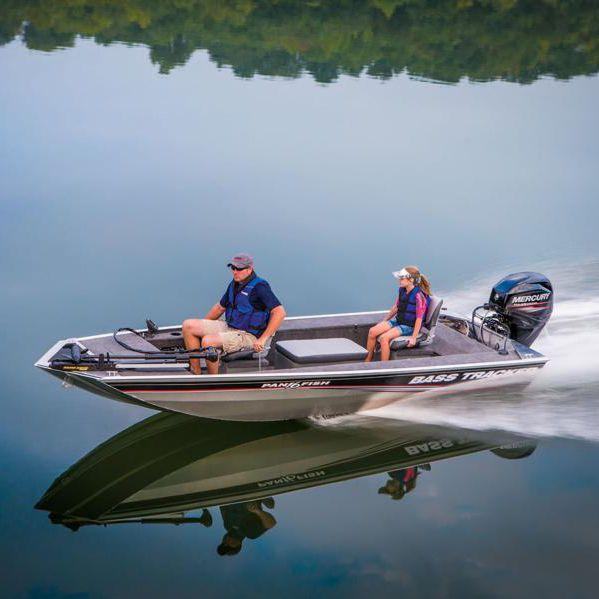 Outboard bass boat / sport-fishing / aluminum / 4-person max  Panfish™ 16  Fisher
