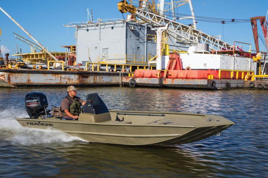 Outboard Jon Boat Side Console Sport Fishing Aluminum