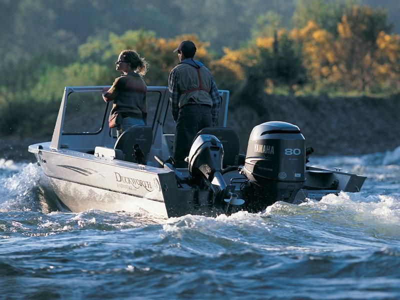 Boating engine / water-jet outboard / gasoline / 2-stroke