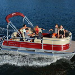 Outboard pontoon boat / 8-person max  - E-1680CR - Misty Harbor