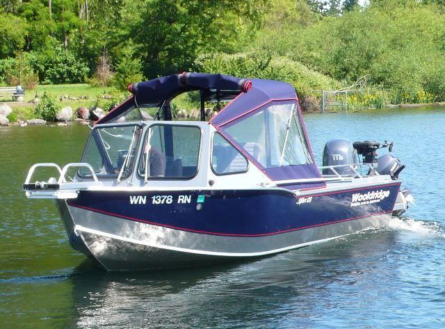 Outboard day fishing boat 20' SPORT OFFSHORE Wooldridge