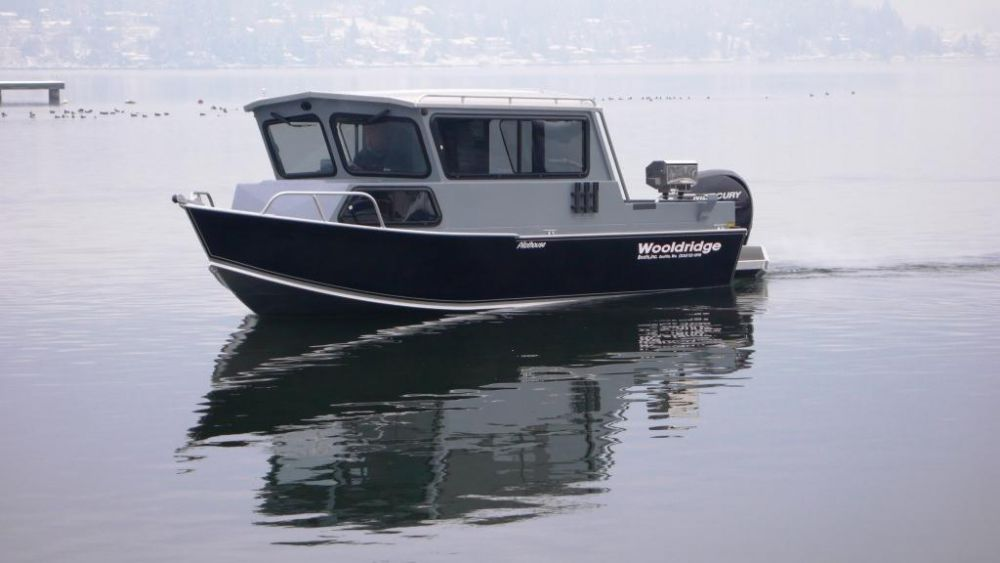 Outboard day fishing boat 20' SPORT OFFSHORE PILOTHOUSE Wooldridge