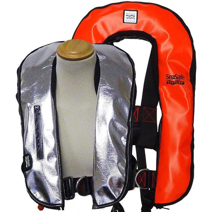 Auto Harness 275N Orange Wipe Clean Life Jacket
