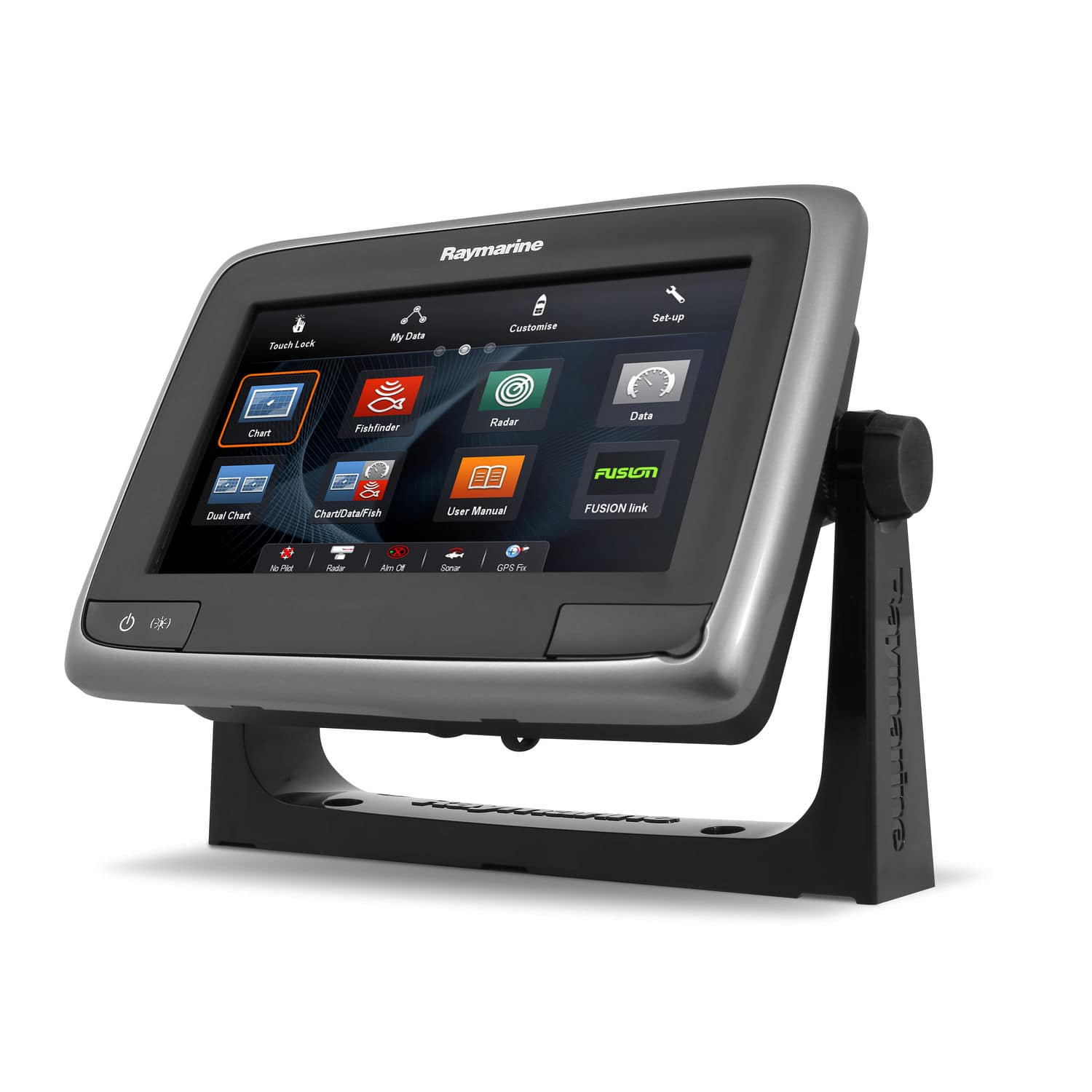 Boat display / multi-function / touch screen / radar a7 Raymarine