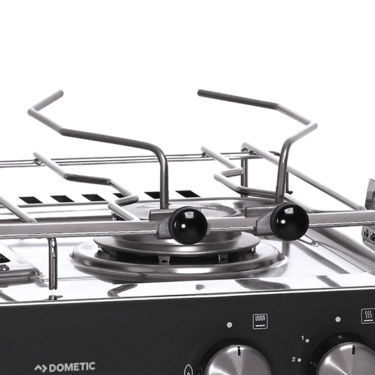 Boat stove-oven / gas / two-burner / with grill - STARLIGHT