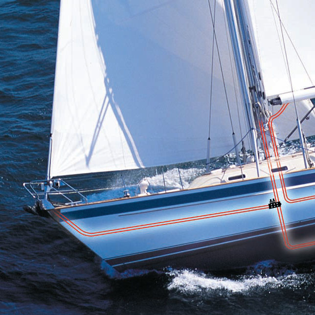 Sailboat mast / furling / aluminum - CRUISE CONTROL - Seldén