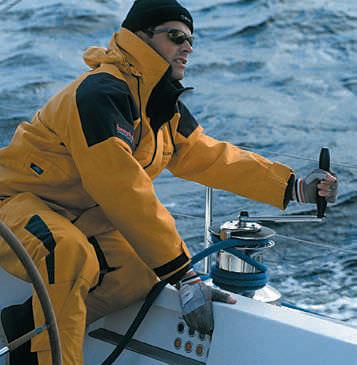 Sailboat furler / jib / hydraulic / stainless steel - H