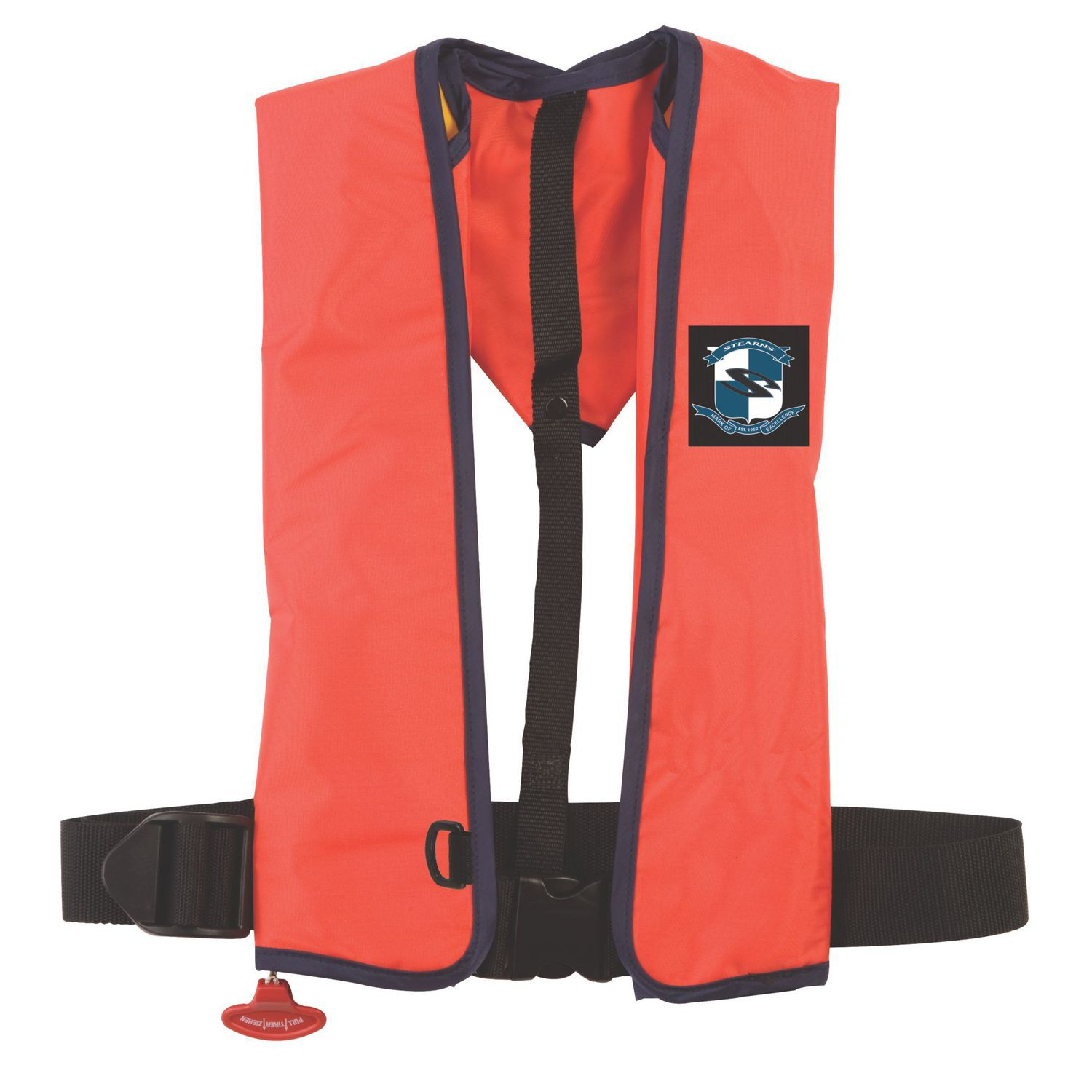 Self Inflating Life Jacket Ultra 3000 Stearns 150 N Professional
