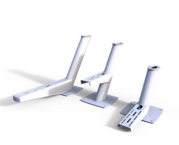 Scanstrut DPT-OA-PLATE-01 Modular Dual Power Tower Open Array Plate 1 for All Open Array Radar Models