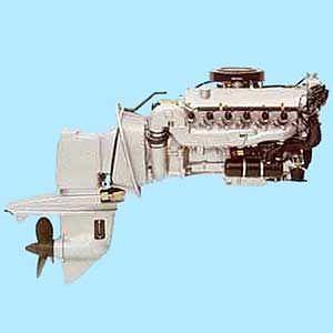 Stern Drive Engine B190 220 Bmw Marine Gasoline Boating