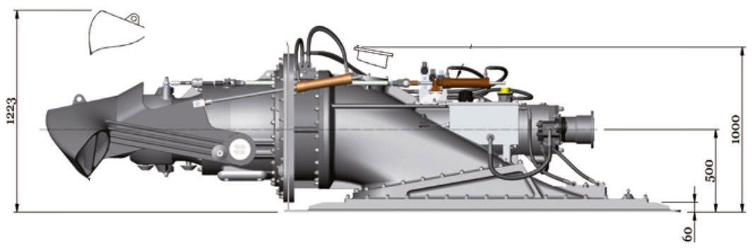 Work Boat Water-jet Drive - Ultrajet 575